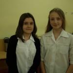 III miejsce Oli Tracz w Międzyszkolnym Konkursie Recytatorskim