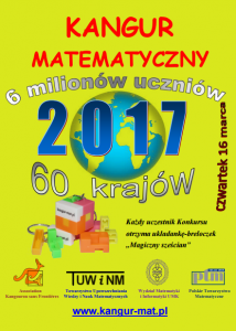 Kangur Matematyczny – informacje o tegorocznej edycji
