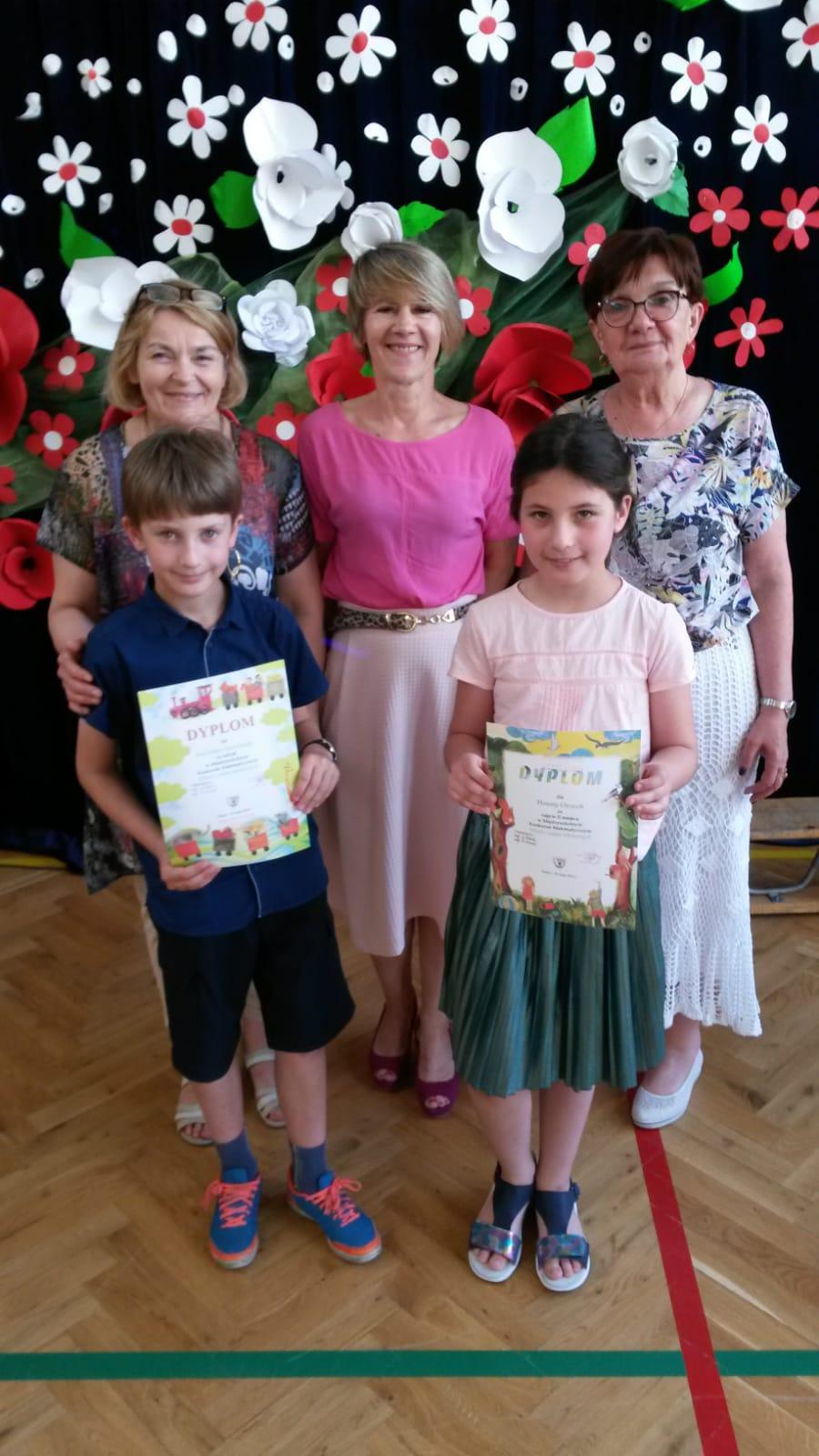 II miejsce Hani Orzech w Międzyszkolnym Konkursie Matematycznym