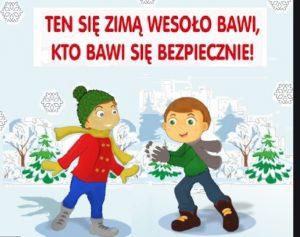 Bezpieczeństwo zabaw zimowych
