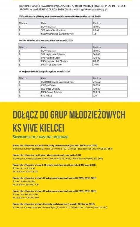 Zajęcia Vive dla dzieci (informacja)