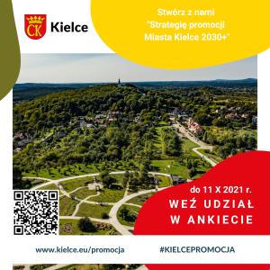 Ankieta dotycząca promocji Kielc #KielcePromocja